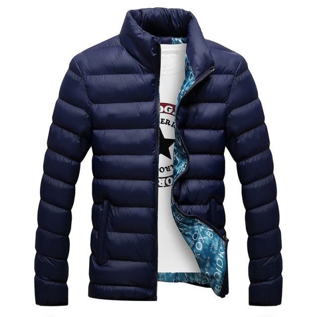 Fashion Winter Thickened Men's Jacket