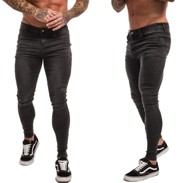 Men's Hip-Hop Style Stretch Jeans