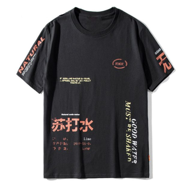 Men's Hip-Hop Style T-Shirt