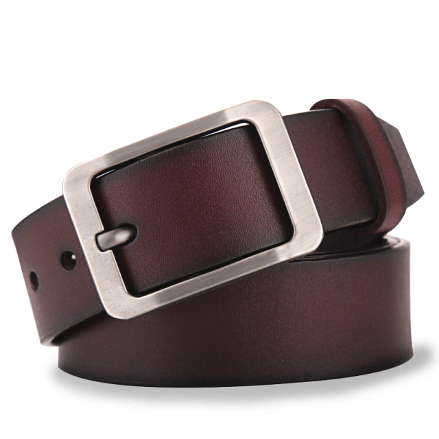 Simple Genuine Leather Belt for Men