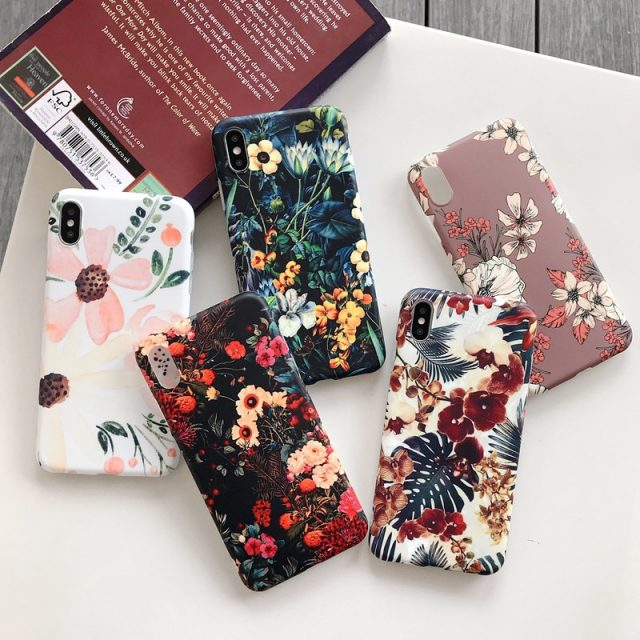 Vintage Floral Phone Case for iPhone