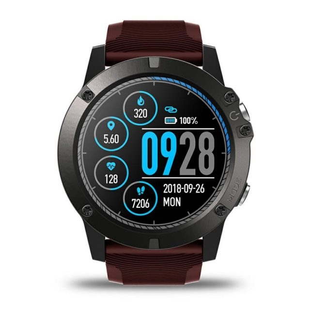 Sports Smart Watch with Heart Rate Monitor and Color Display