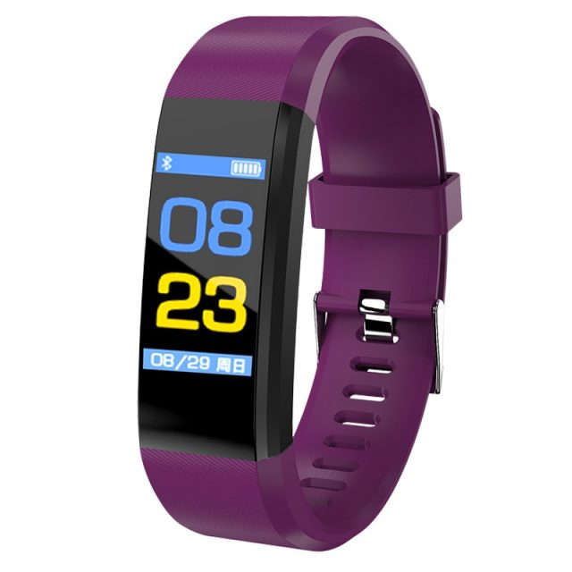 Heart Rate Blood Pressure Monitoring Smart Fitness Watches
