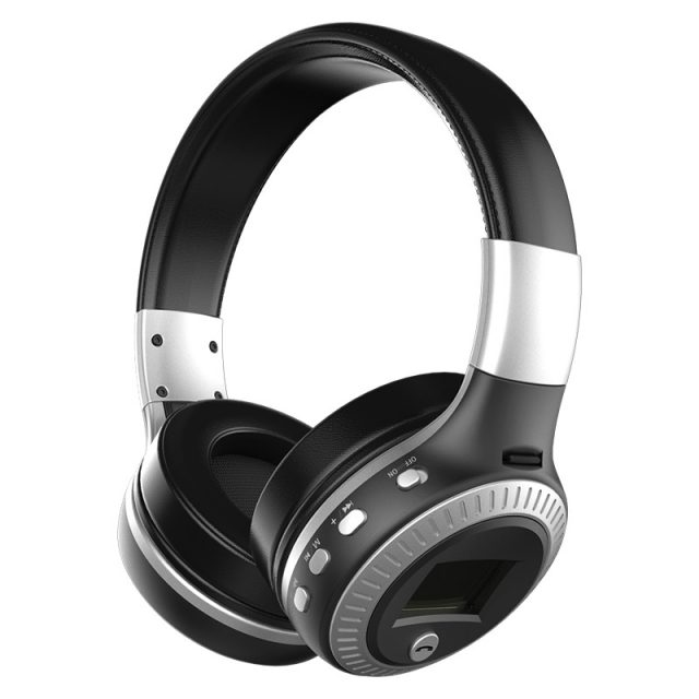 Bluetooth Stereo Headphones with Memory Card Slot