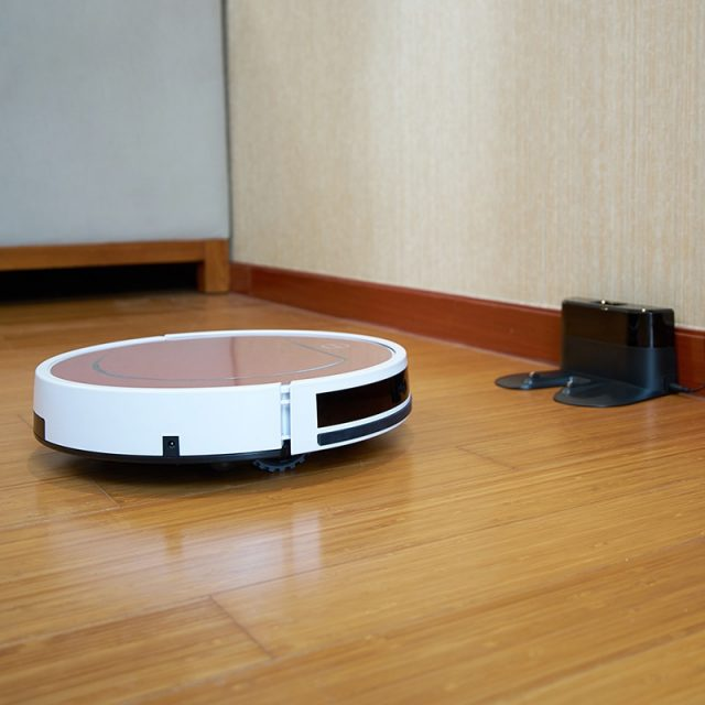 Self-Charging Cyclone Robot Vacuum Cleaner