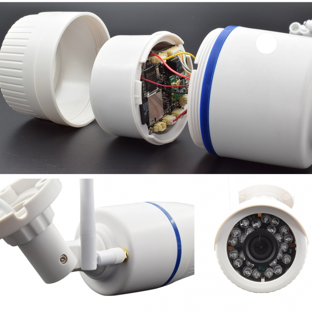 Waterproof 1080p WiFi Security Camera