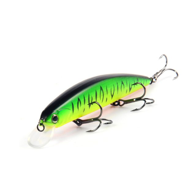 Hard Fishing Lures with 3 Hooks 13 cm