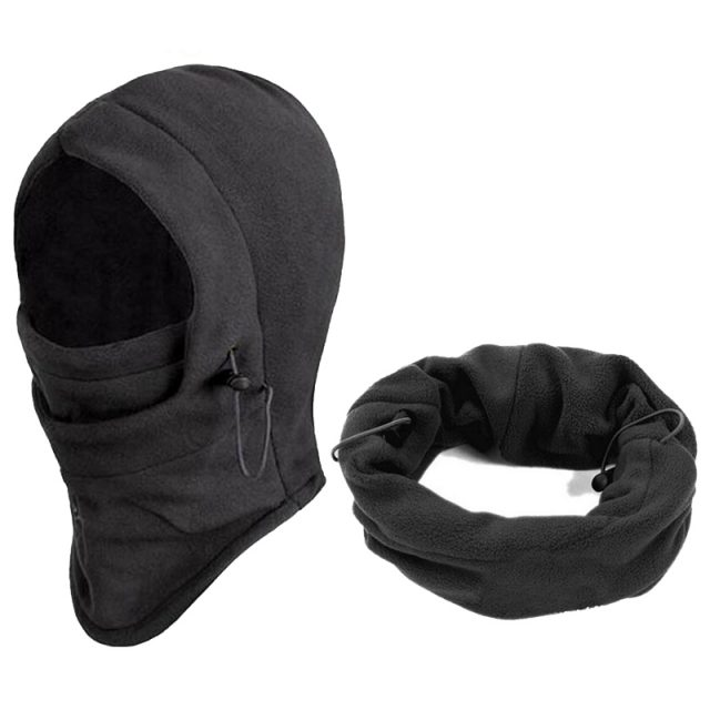 Windproof Warm Hiking Cap
