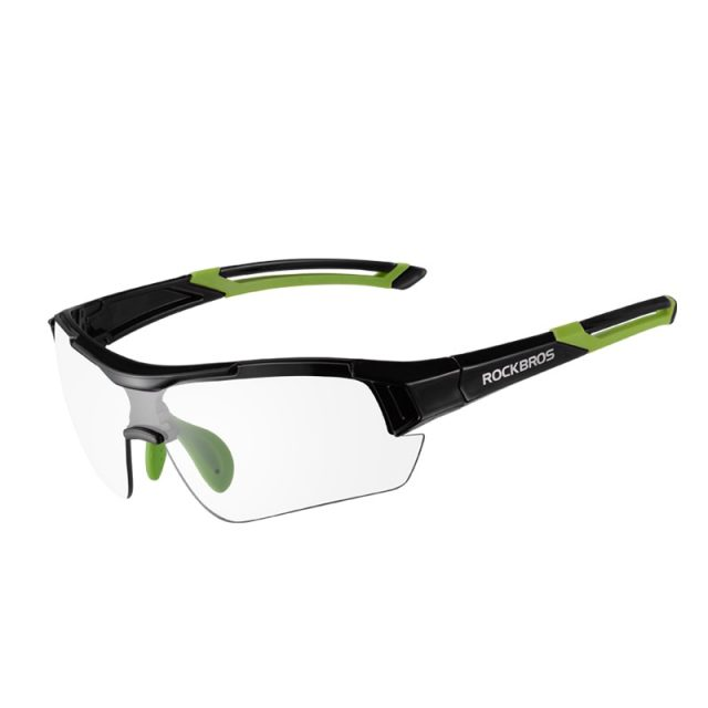 Ultra-Light Photochromic Cycling Glasses with Built-in Myopia Frame