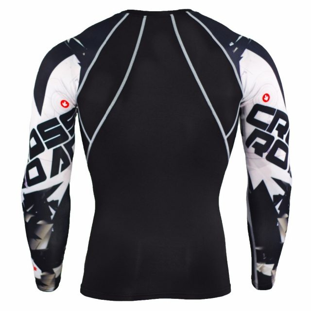 Men's Printed Sleeve Sports Longsleeve
