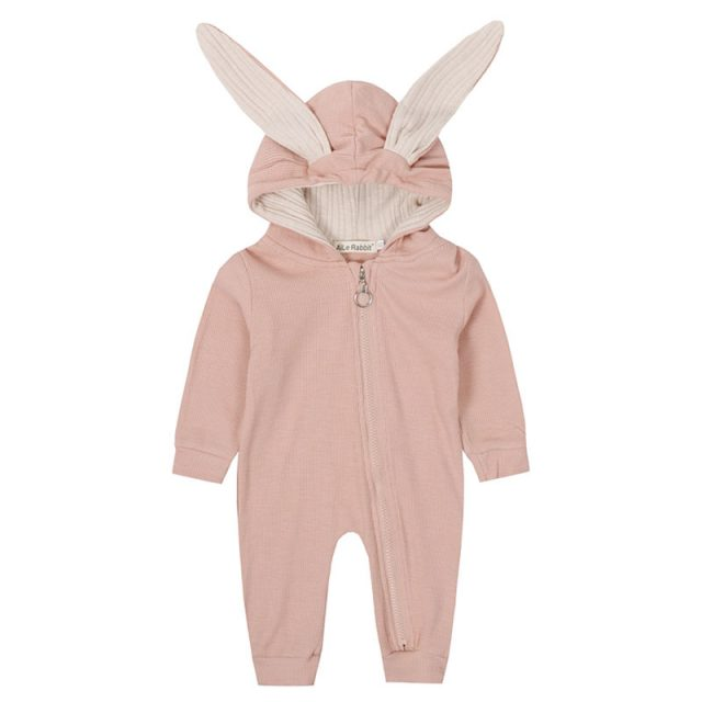 Baby Rabbit Ears Decorated Rompers