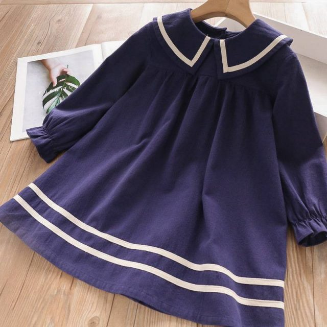 Casual A-Line Dress for Girls