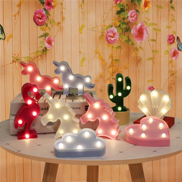 Cartoon LED Night Lights for Bedroom