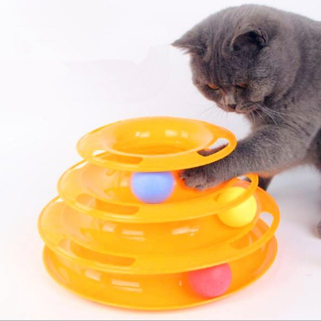 Cat's Three Levels Tower Toy