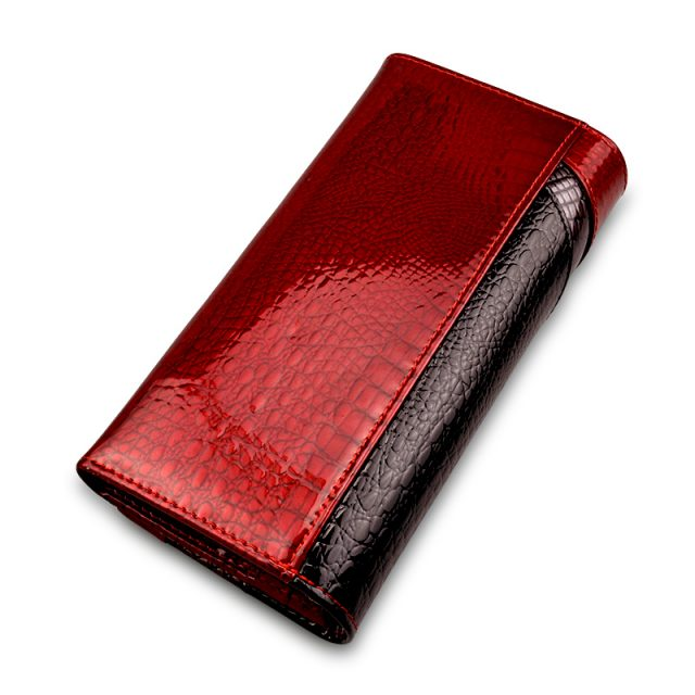 Patent Leather Women's Wallet