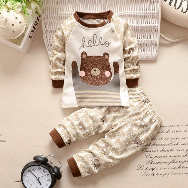 Baby Girl's Casual Cotton Clothing Set