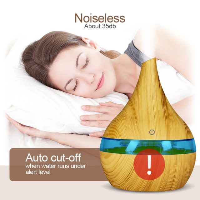 Wood Aromatherapy Air Humidifier