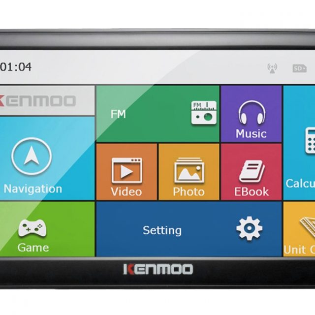 HD GPS Car Navigation System