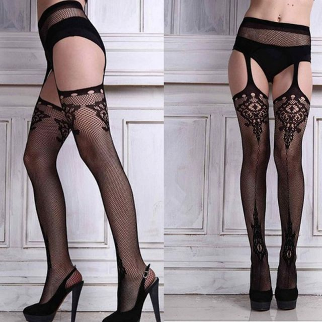Exquisite Crotchless Sexy Women's Tights