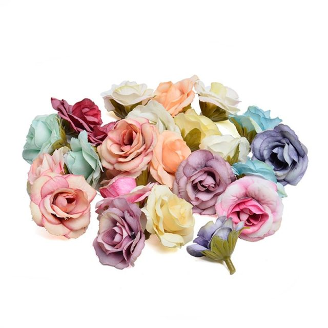 Artificial Silk Rose Flowers for Party