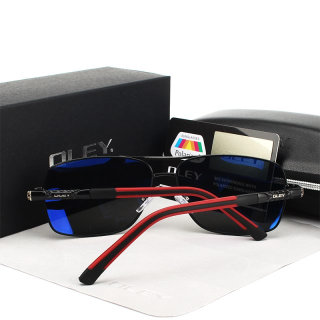 Men's Modern Style Square Shaped Sunglasses