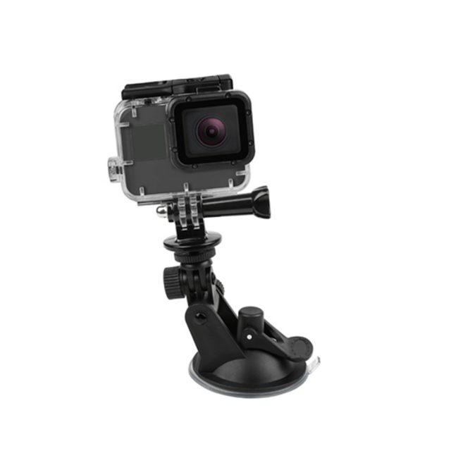 Flexible Action Camera Suction Cup Holder