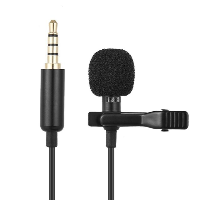 Mini Portable Clip-on Microphone