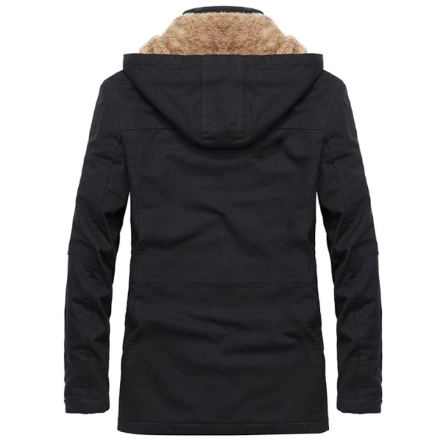 Cotton Men's Winter Coat in Different Sizes