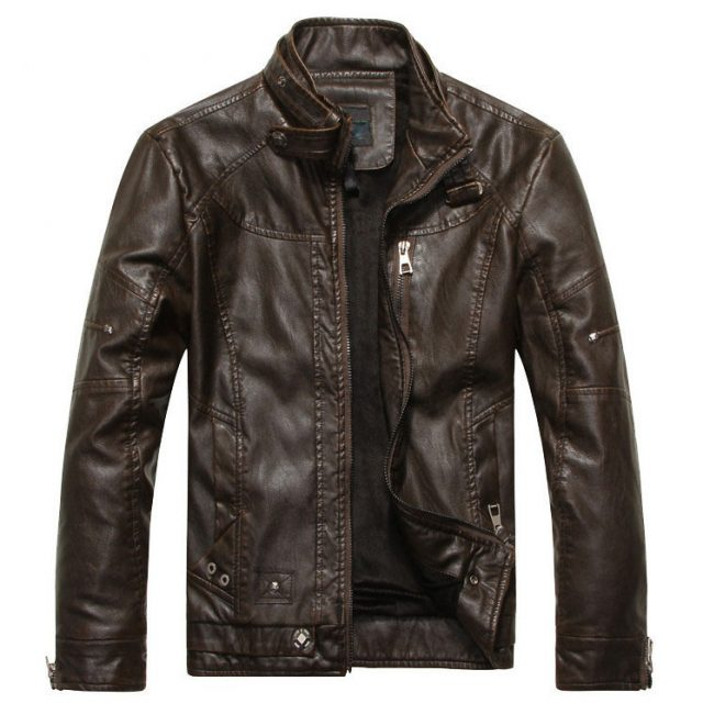 Stylish Leather Jacket For Men