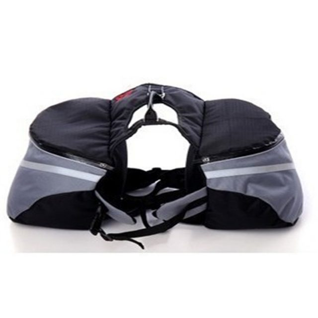 Convenient Sports Foldable Saddle Bag for Dogs