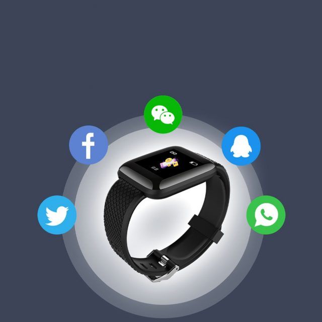 Waterproof Health Monitoring Smart Watch