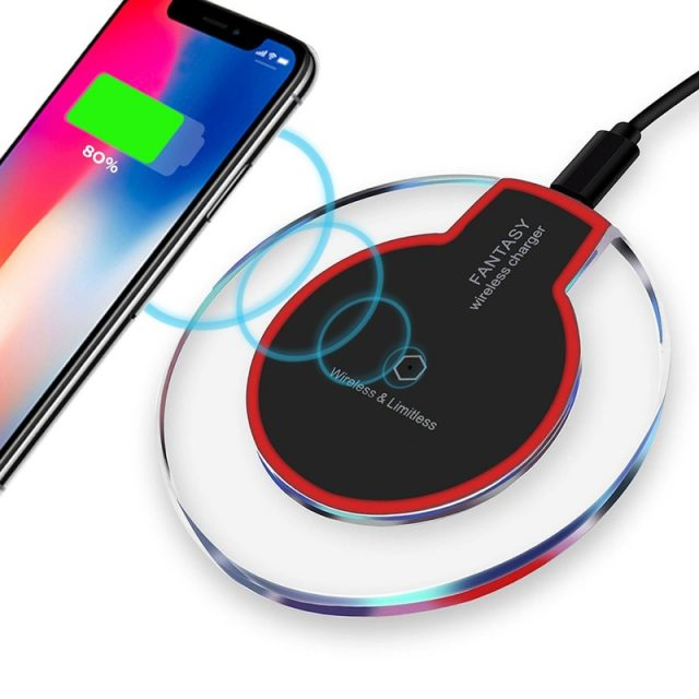 Round Shaped Wireless Charger