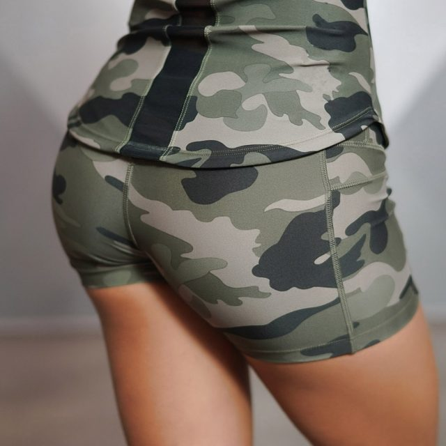 Women's Sport Sexy Camouflage Shorts