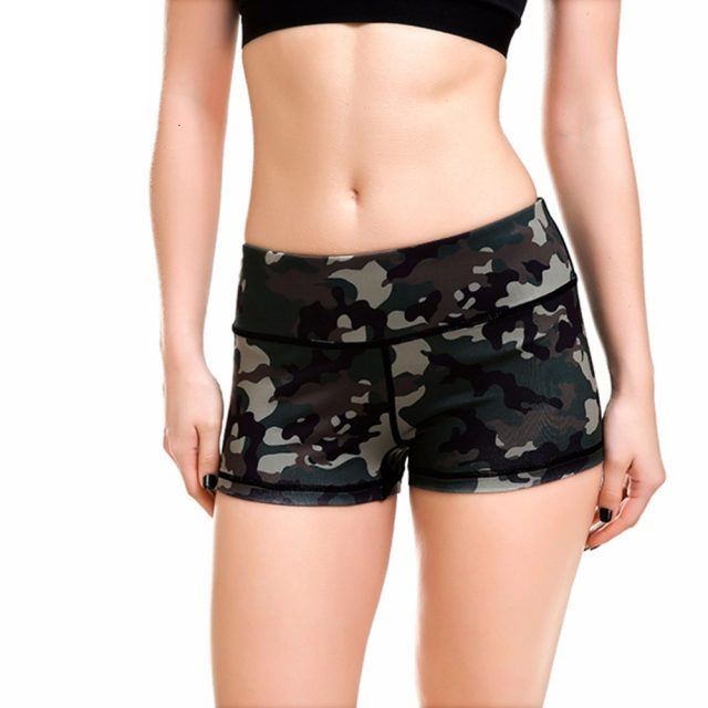 Women's Army Green Shorts