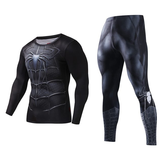 3D Printed Fitness Clothing Sets