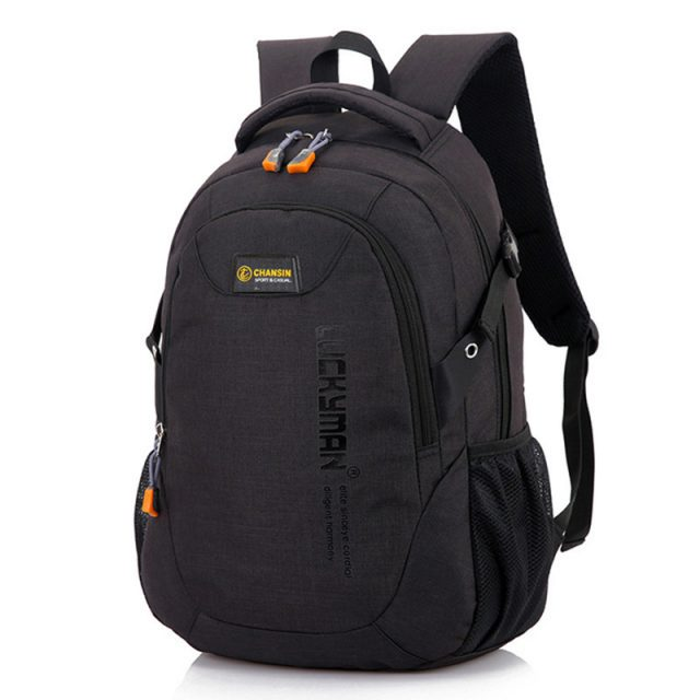 Minimalistic Style Men's Backpack