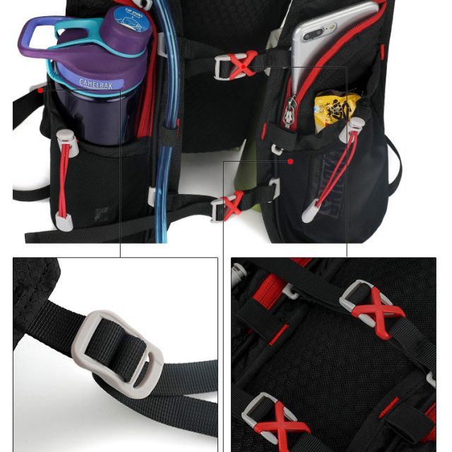Sporty Unisex Running Backpack