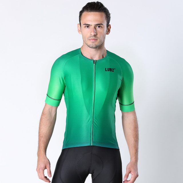 Men's Solid Color Summer Cycling Jersey