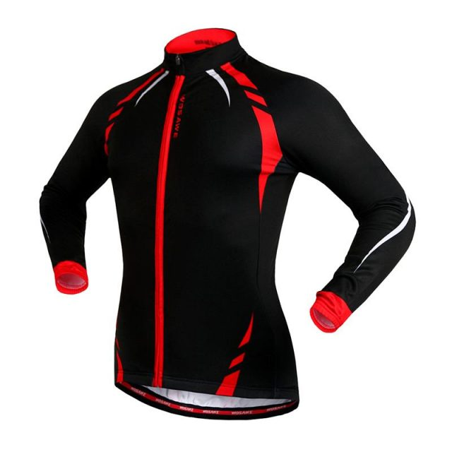 Windproof Colorful Men's Thermal Cycling Jacket