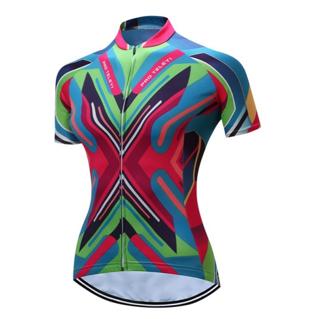 Women's Summer Short Sleeve Cycling Jersey