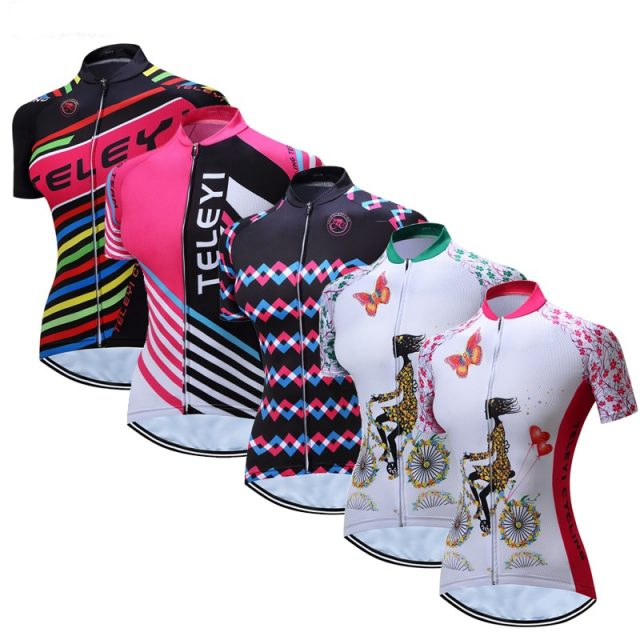 Professional Summer Quick-Drying Women's Cycling Jersey
