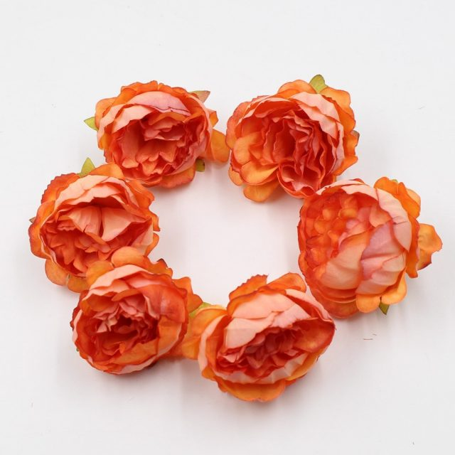 Artificial Peony Flowers for Party 5 Pcs Set