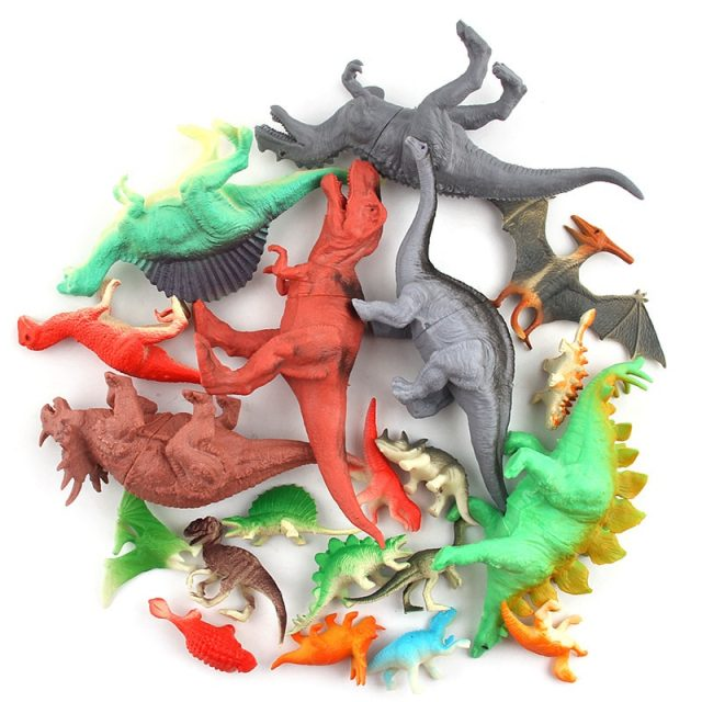Mini Dinosaur Action Figures 12 pcs/Set