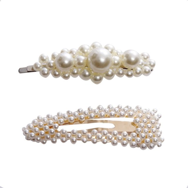 Fashion Pearls Hairclips for Women
