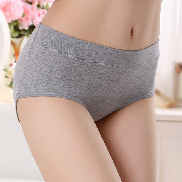 Casual Comfortable Breathable Cotton Women's Panties