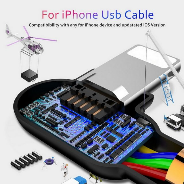 Fast Charging iPhone USB Cable