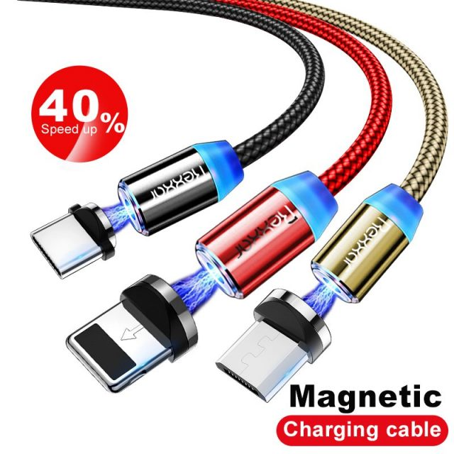 Magnetic Micro USB / Type C Fast Charging Cable