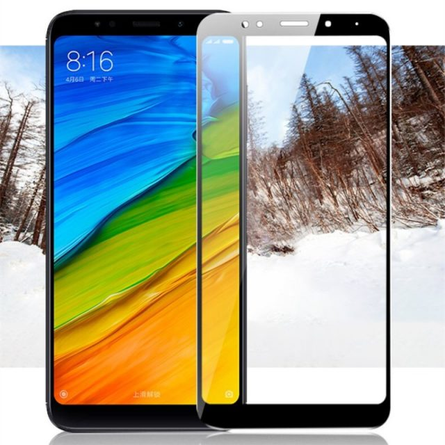 Full Cover White and Black Protective Film for Xiaomi