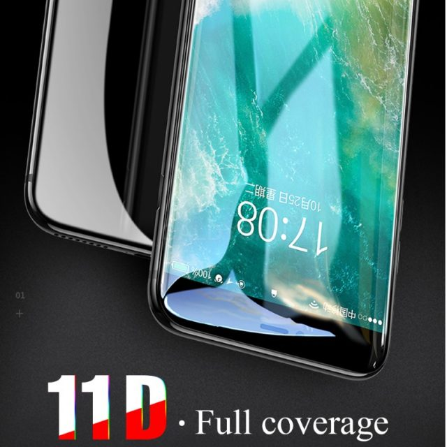11D Curved Edge Protective Glass for iPhone