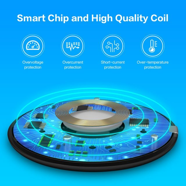 Wireless Fast Charging Pad for iPhone